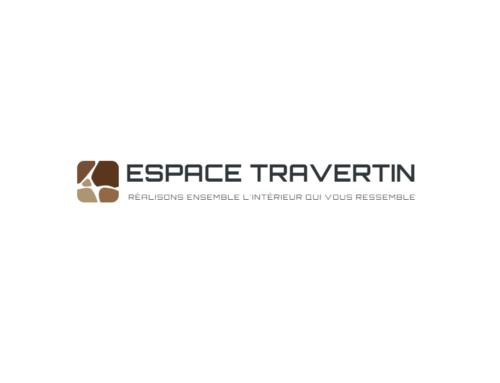 Création logo Espace Travertin