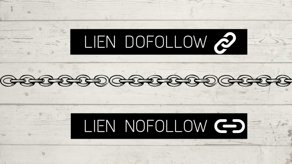 difference entre liens dofollow et nofollow