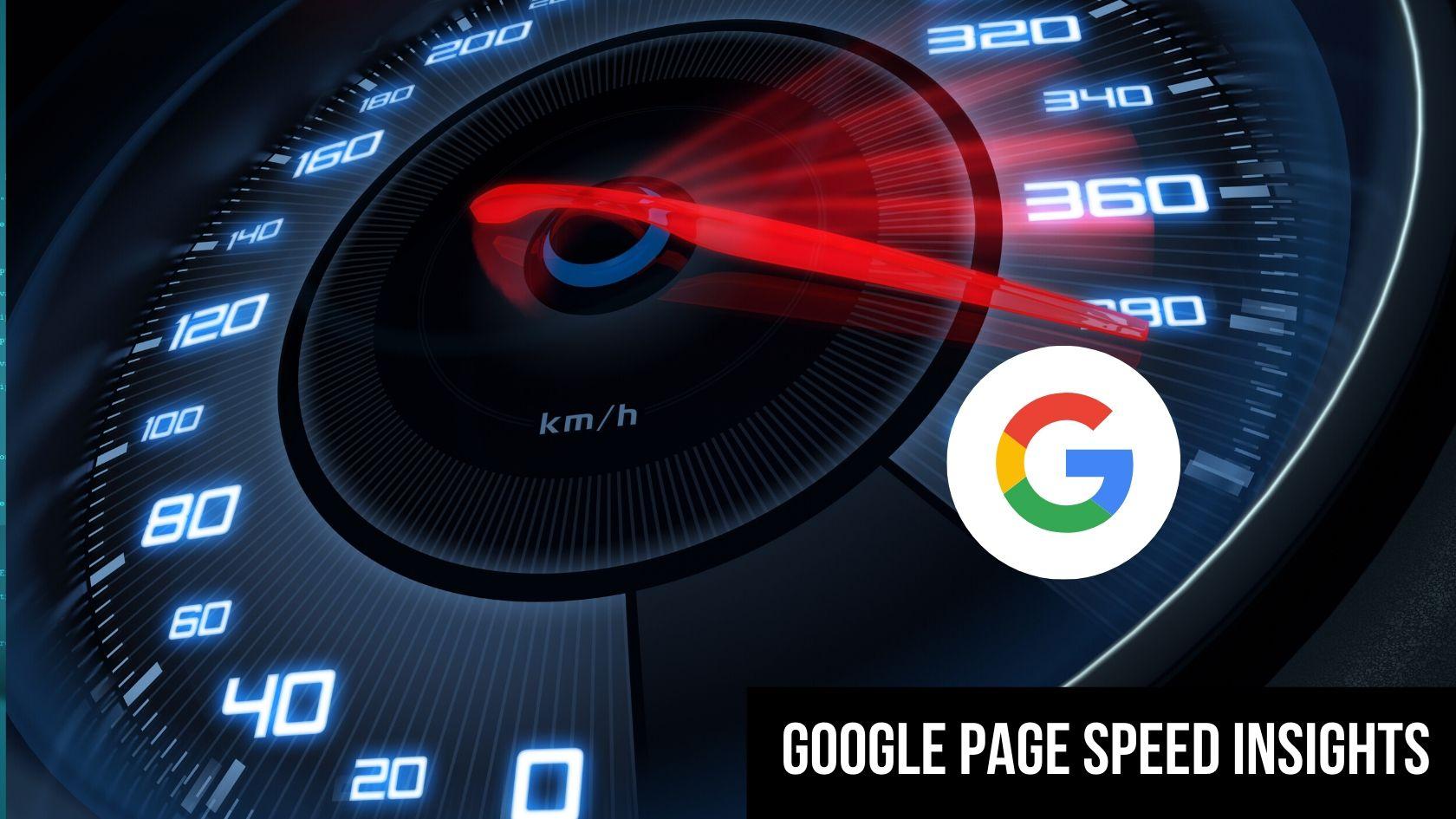 augmenter la vitesse de votre site avecGoogle PageSpeed Insights