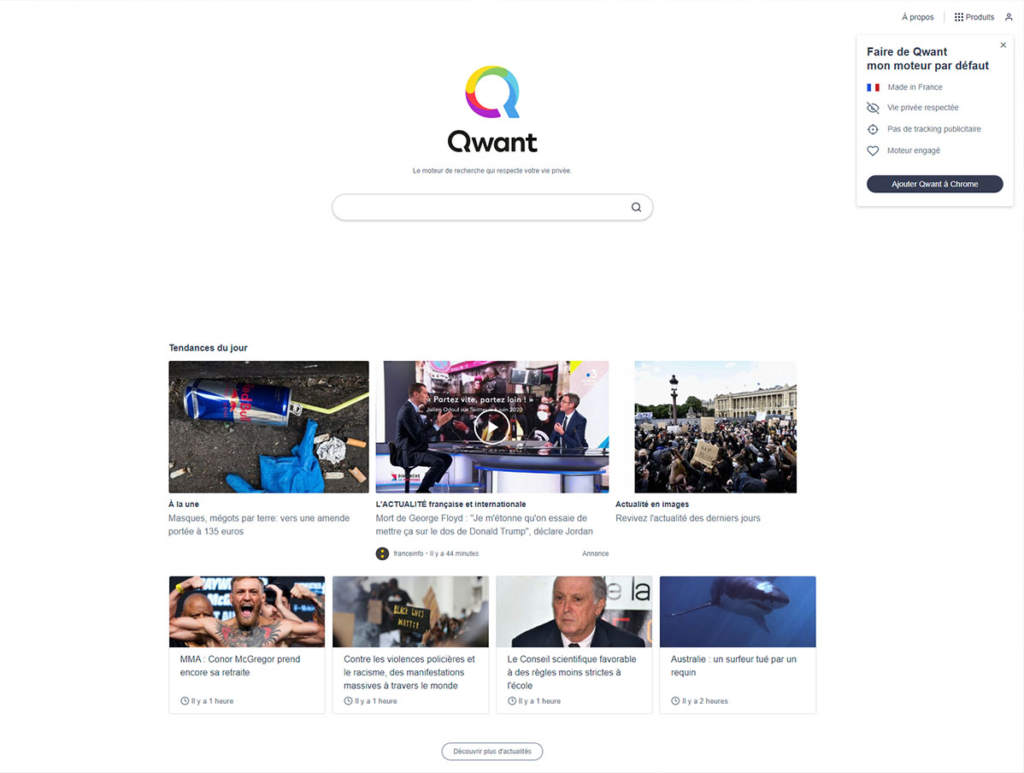 Qwant le Frenchy