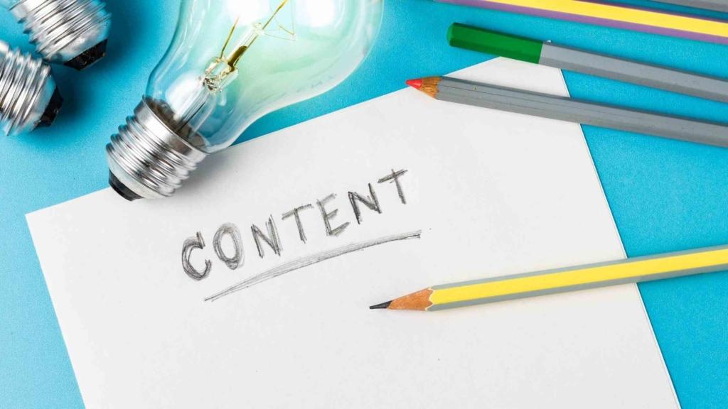 Crée du contenu pour être référencer sur Google