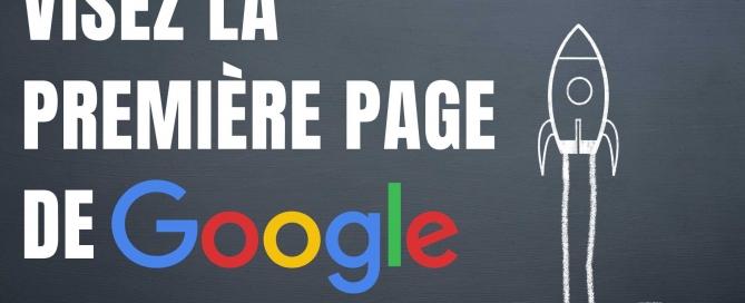 1ère page de google
